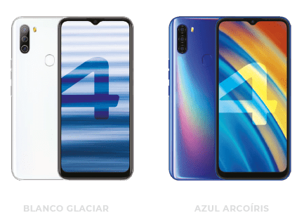 colores W4 smartphone wings mobile